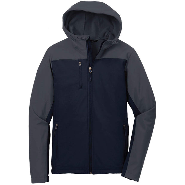 SH204. Port Authority® Hooded Core Soft Shell Jacket