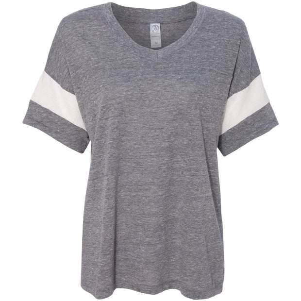 BB1001. Ladies' Eco-Jersey Powder Puff Tee