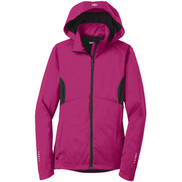 IBI212. Ladies' OGIO ENDURANCE Pivot Soft Shell Jacket
