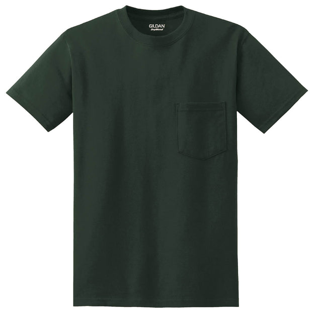 SDX201. Men's DryBlend 50/50 Pocket T-Shirt