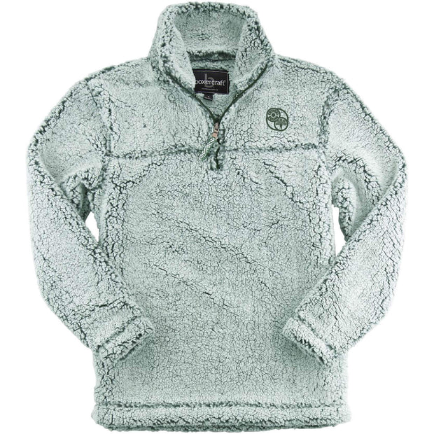 ACS419. Youth Sherpa ¼-Zip Pullover