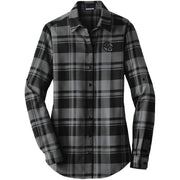 ACS120. Women's Port Authority® Plaid Flannel Tunic