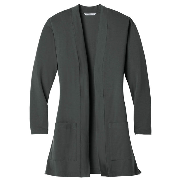 MPM210. Port Authority ® Ladies Concept Long Pocket Cardigan