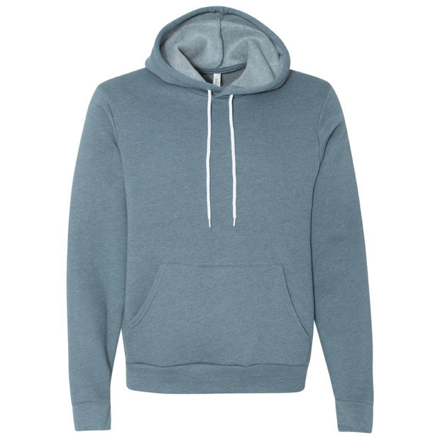 IBI110. Unisex Bella + Canvas Hooded Pullover Sweatshirt