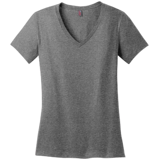 KM202. Ladies' Perfect Weight V-Neck Tee