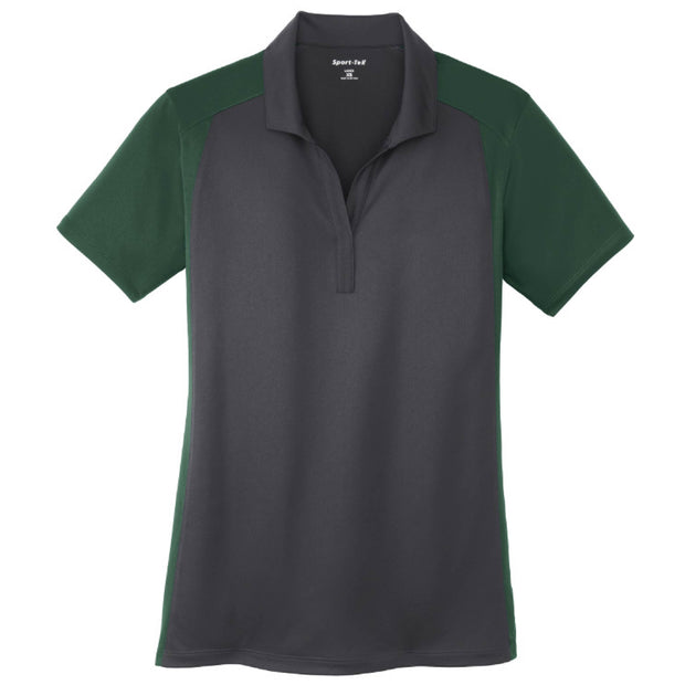 SDX106. Ladies' Colorblock Micropique Sport-Wick Polo