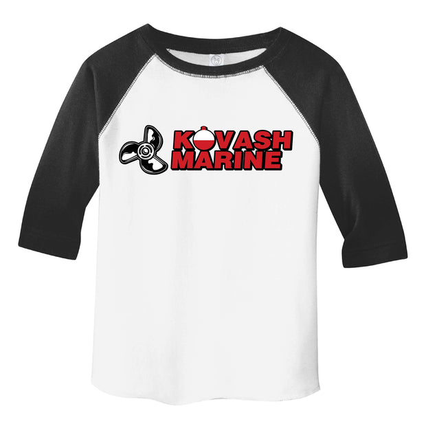 KM401. Toddler Raglan Baseball Tee