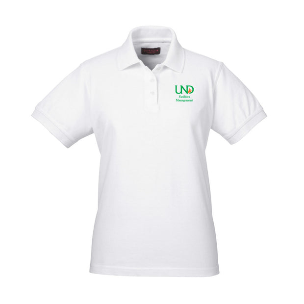 UNDFMS. UltraClub Ladies' Classic Piqué Polo