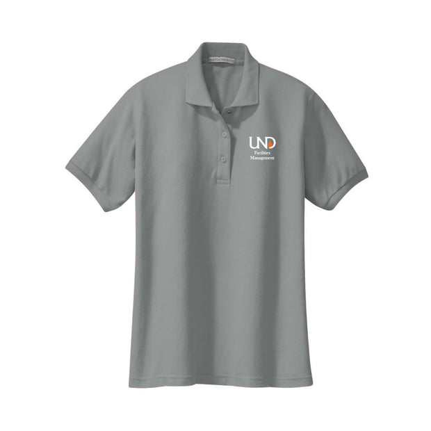 UNDFMS. Port Authority® Ladies' Silk Touch Polo