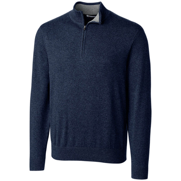 IBI114. Men's Cutter & Buck Lakemont 1/2-Zip Sweater