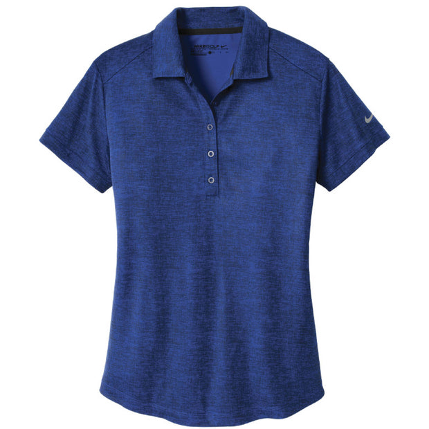 IBI203. Ladies' Nike Dri-FIT Crosshatch Polo