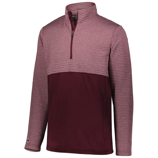 BB2049. Men's 3D Regulate ¼ Zip Pullover