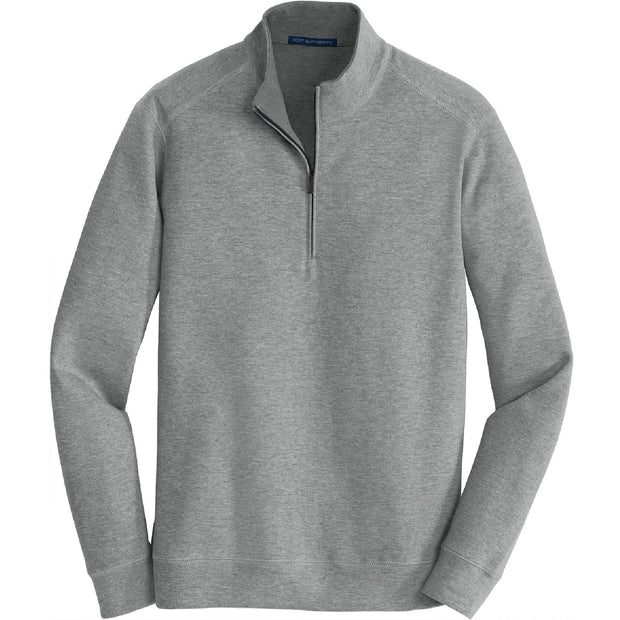 GC123. Men's Port Authority® Interlock 1/4-Zip Pullover