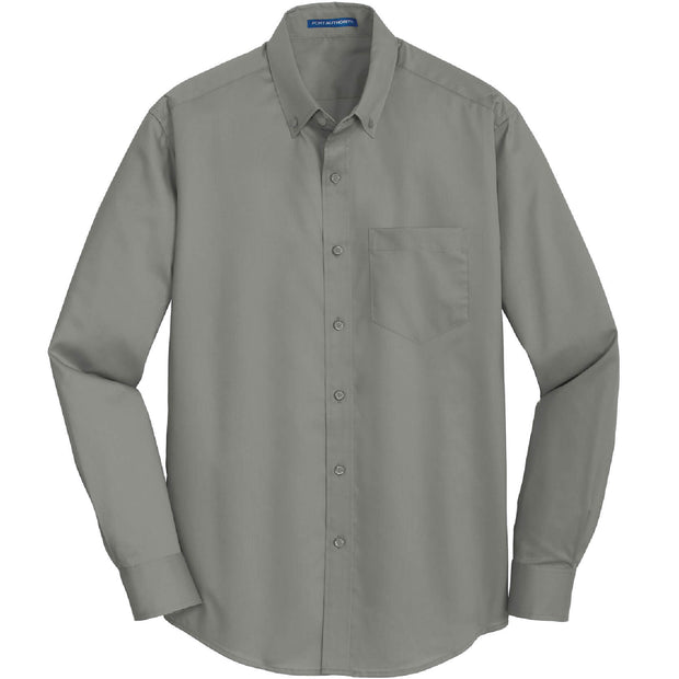 BYTE210T. Men's Tall Port Authority® SuperPro™ Twill Shirt