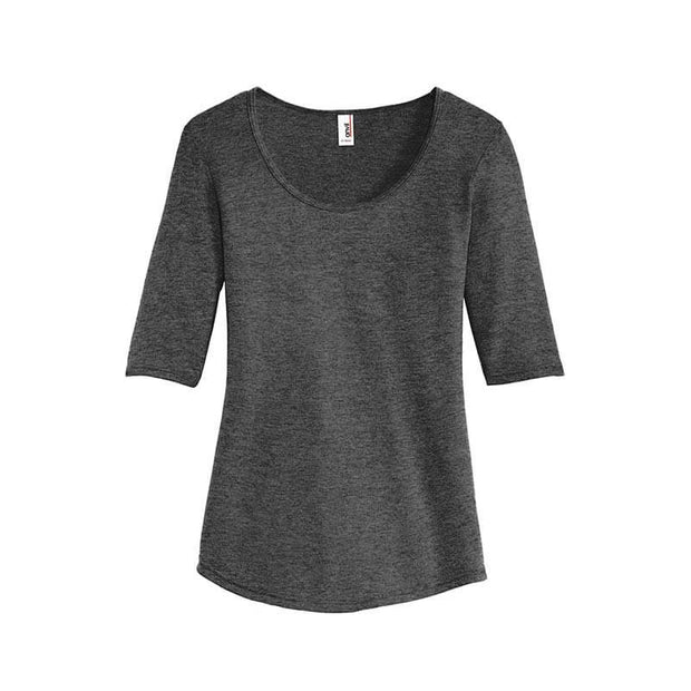 NDSU100. Women's Anvil ½ Sleeve Tee