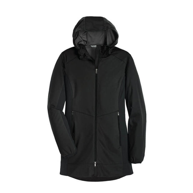 NDSU127. Women's Active Hooded Soft Shell Jacket