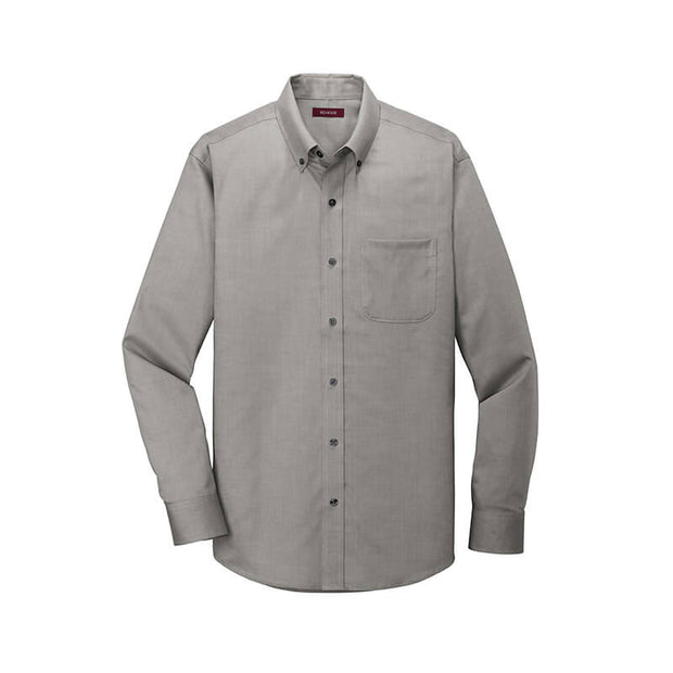 NDSU208. Men's Red House Oxford Non-Iron Shirt