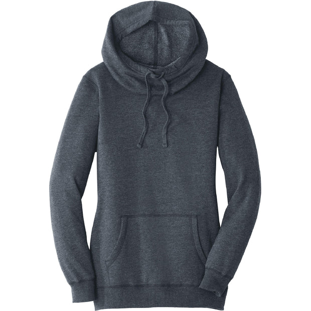 GC224. Women's District® Lightweight Fleece Hoodie