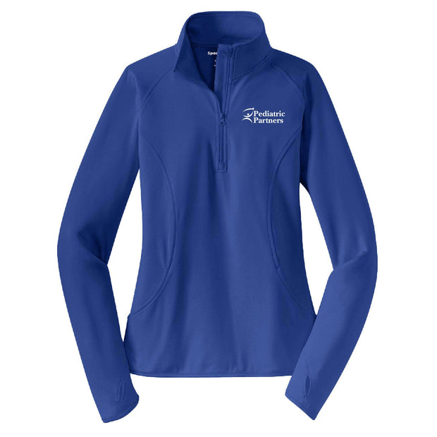 PP107. Ladies' Sport-Wick Stretch 1/2-Zip Pullover
