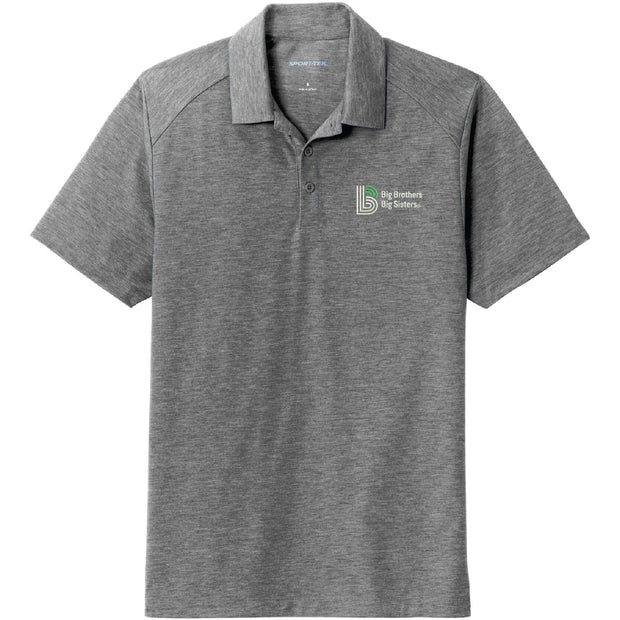 BBBS100. Men's Sport-Tek® PosiCharge® Tri-Blend Wicking Polo