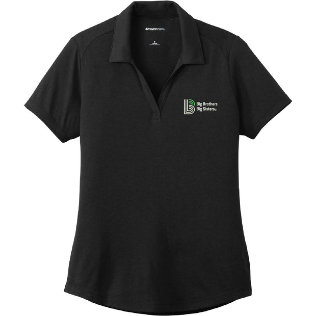 BBBS101. Women's Sport-Tek® PosiCharge® Tri-Blend Wicking Polo