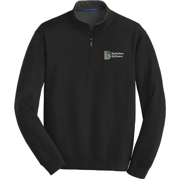 BBBS106. Adult's Port Authority® Interlock 1/4-Zip Pullover