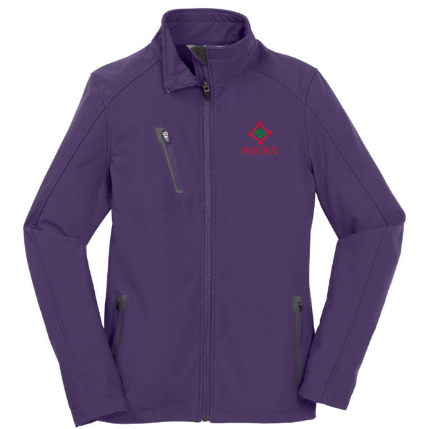 SDX102. Ladies' Welded Soft Shell Jacket