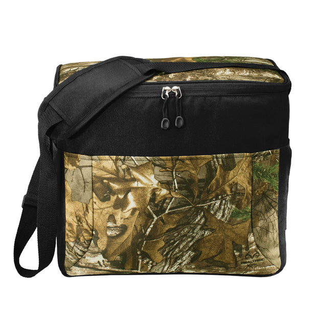 IBI305. Port Authority Camouflage 24-Can Cube Cooler