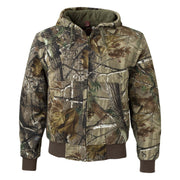IBI121. Men's DRI DUCK Hooded Boulder Cloth Jacket