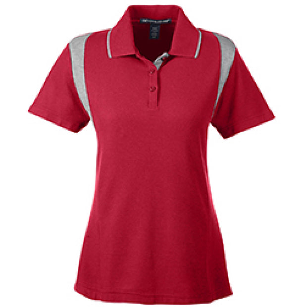 SDX105. Ladies' Performance Colorblock Polo