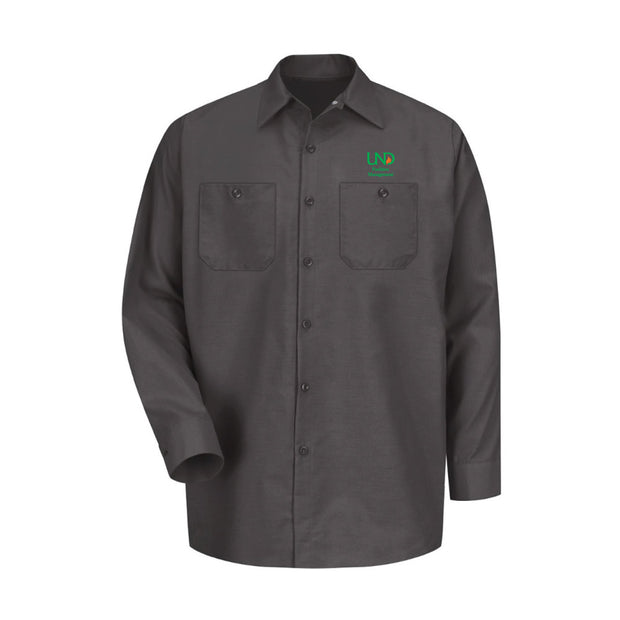 UNDFMS. Red Kap® Industrial Long Sleeve Work Shirt