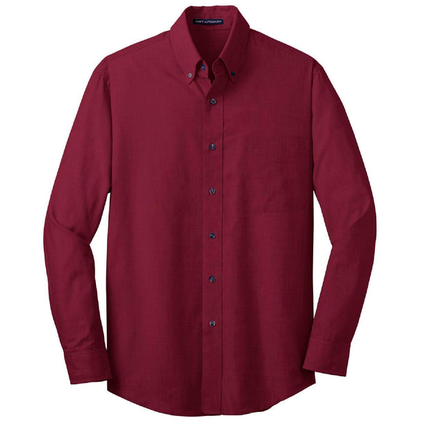 GC107. Men's Port Authority® Crosshatch Easy Care Shirt