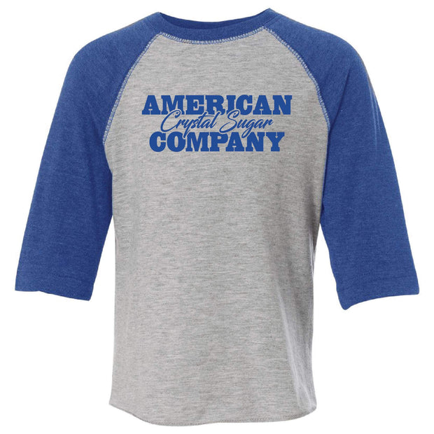 ACS404. Toddler Baseball Fine Jersey Tee