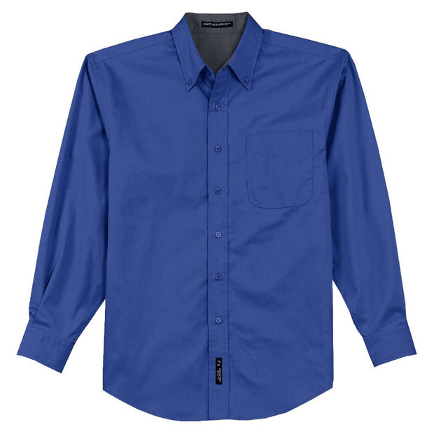 MPM111. Port Authority® Long Sleeve Easy Care Shirt