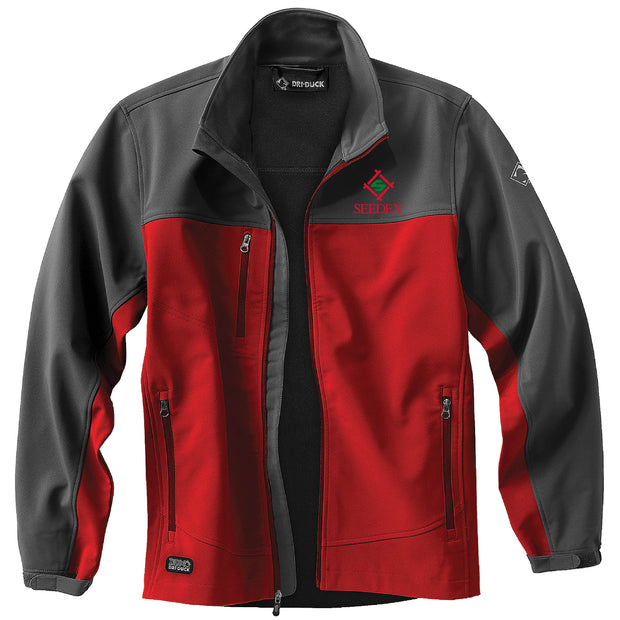 SDX211. Men's Poly/Spandex Motion Full-Zip Softshell Jacket