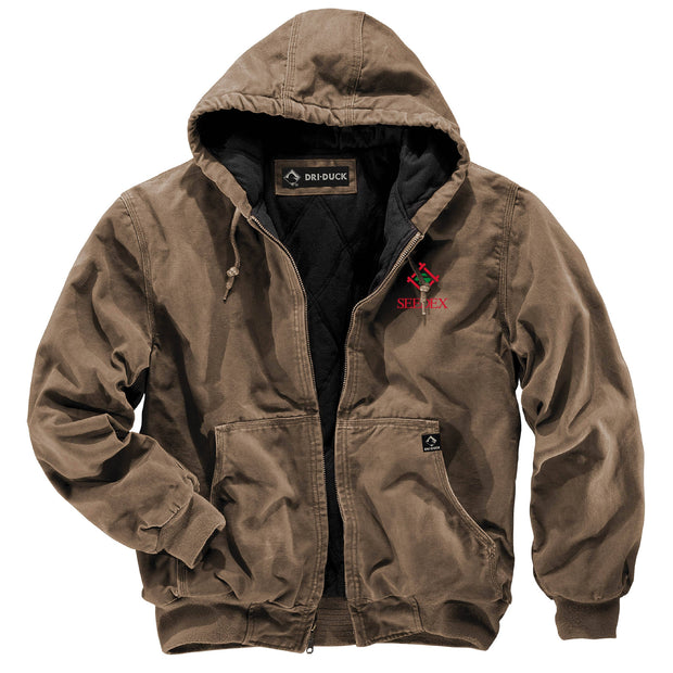 SDX217. Men's Canvas Cheyenne Full-Zip Jacket