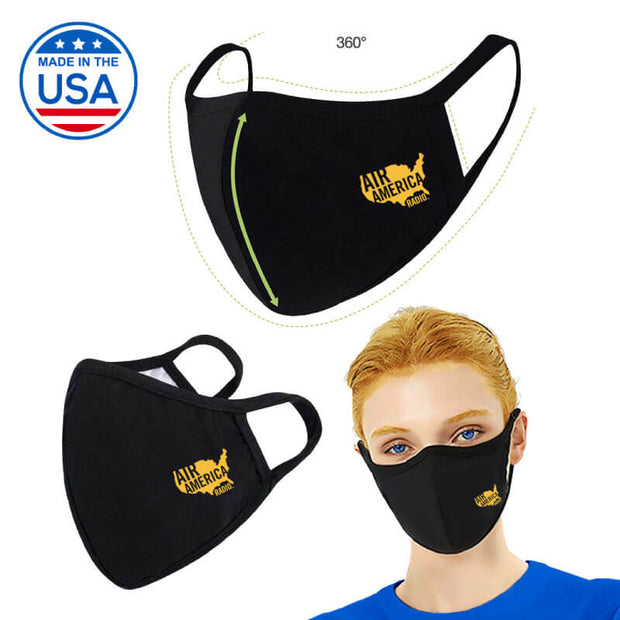 Shaped Double Layer Mask