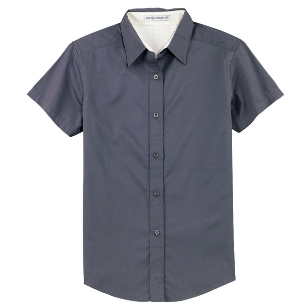 PP101. Ladies' Short Sleeve Easy Care Shirt