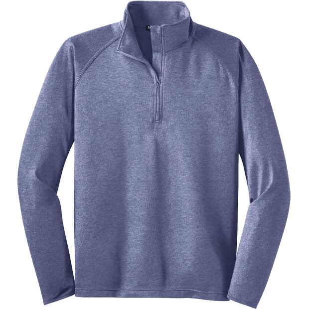 BYTE222. Men's Sport-Tek® Sport-Wick® Stretch 1/2-Zip Pullover