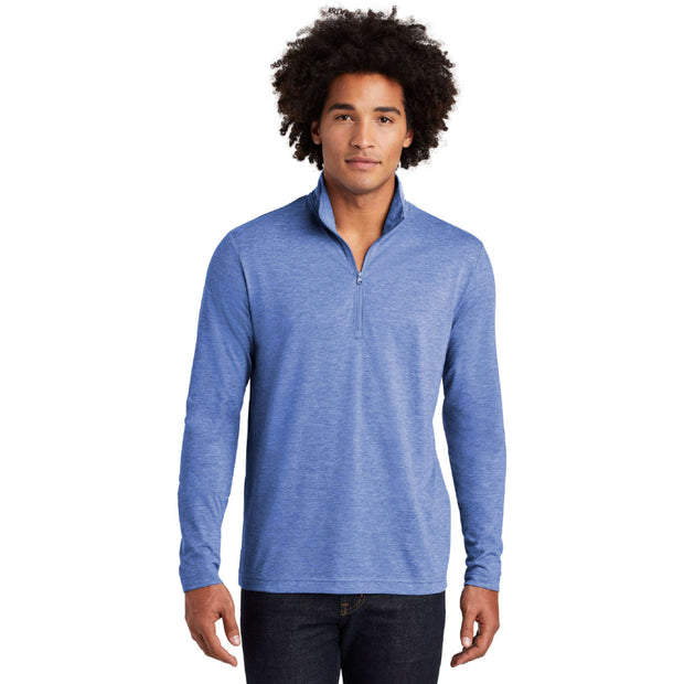 CAPLP202. PosiCharge ® Tri-Blend Wicking 1/4-Zip Pullover
