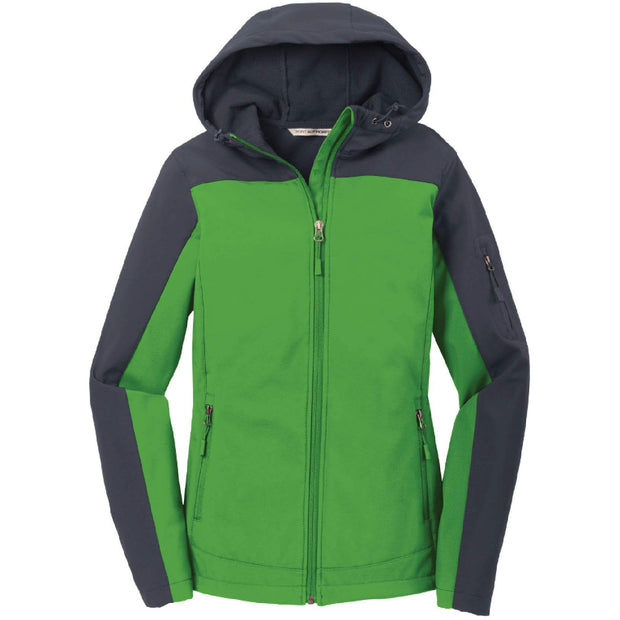 SH103. Women's Port Authority® Hooded Core Soft Shell Jacket