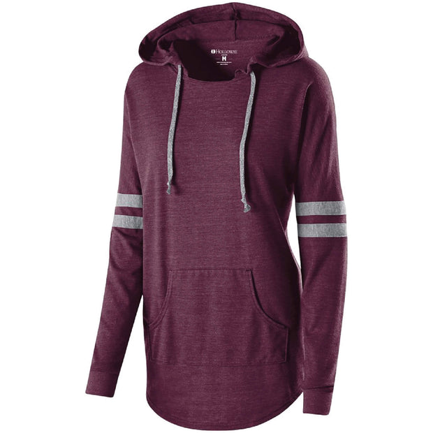 BB1047. Ladies' Hooded Low Key Pullover