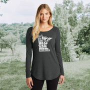 Ladies' 'MN Things' Long Sleeve