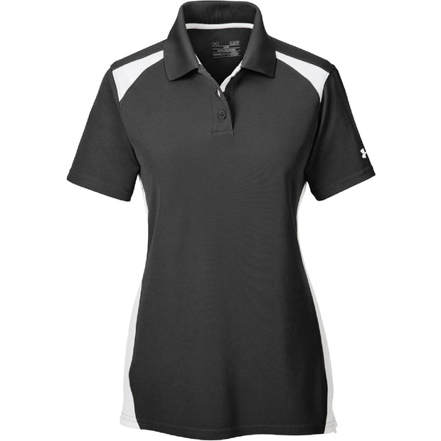BYTE107. Women's Under Armour Team Colorblock Polo