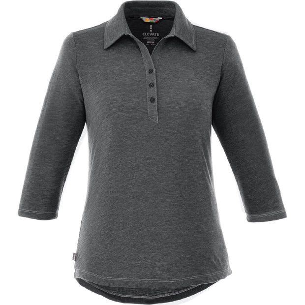 BYTE104. Women's Tipton 3/4-Sleeve Polo