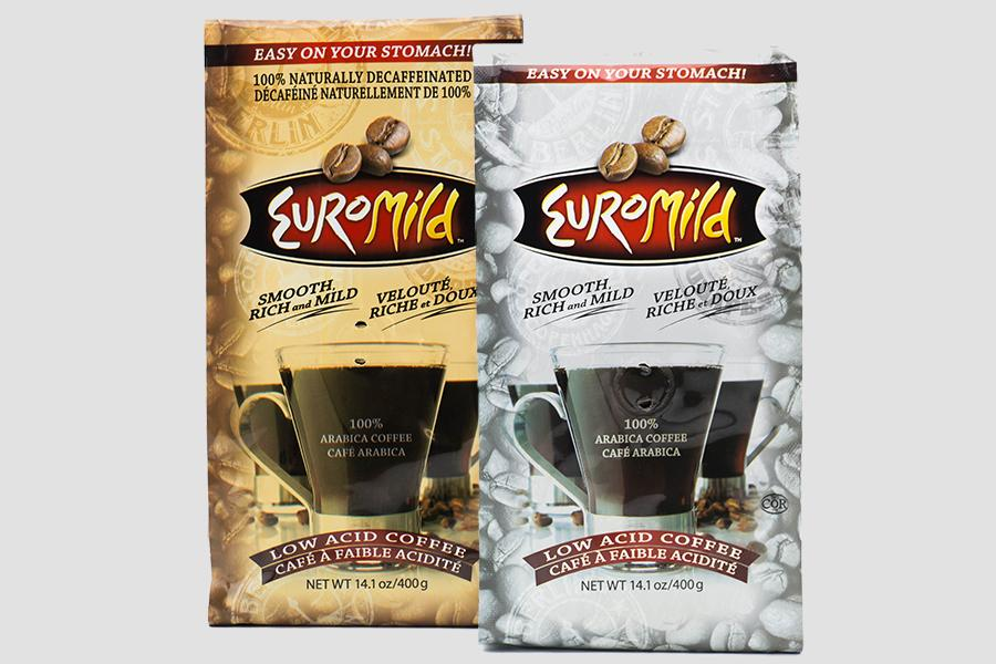 Euromild Healthier Low Acid Coffee Bags