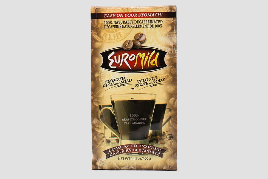 Euromild Decaffeinated Wholebean Coffee Bag