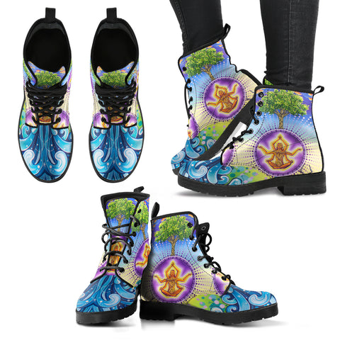The Universe & I - Vegan Women's Boots