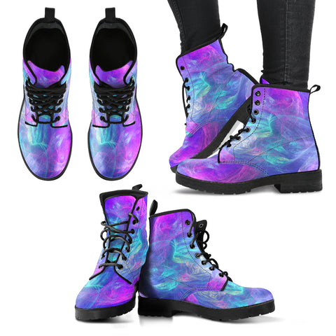 Glowing Women's Leather Boots