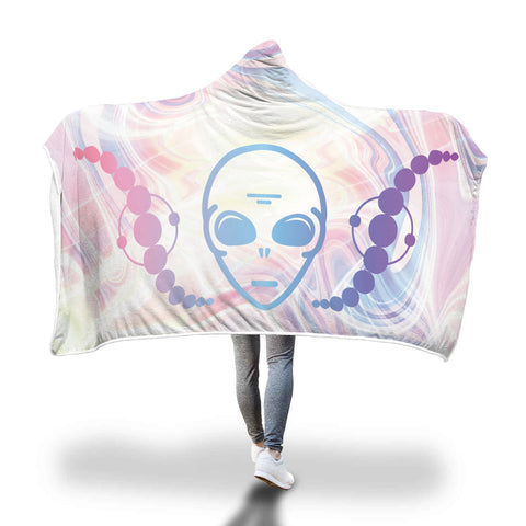Alien Stuff // Hooded Blanket